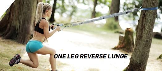 One leg reverse lunge
